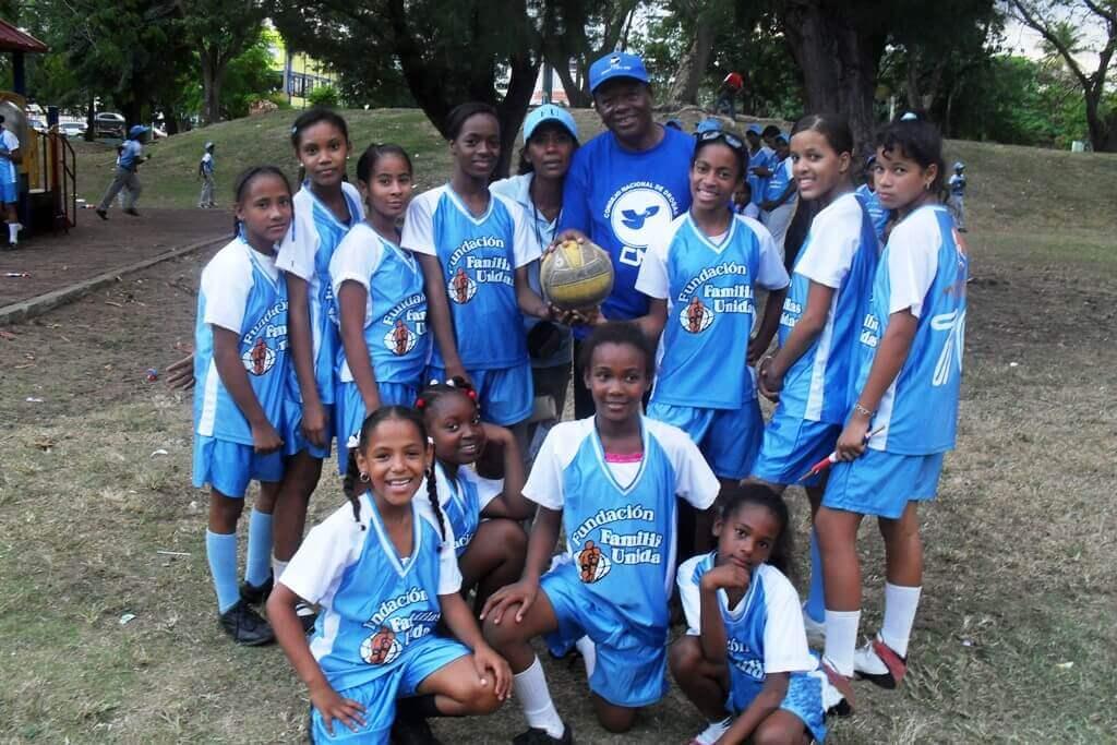 Apoyo deportivo infantil en República Dominicana