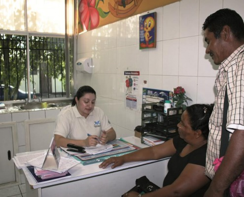 Atención sanitaria en Nicaragua