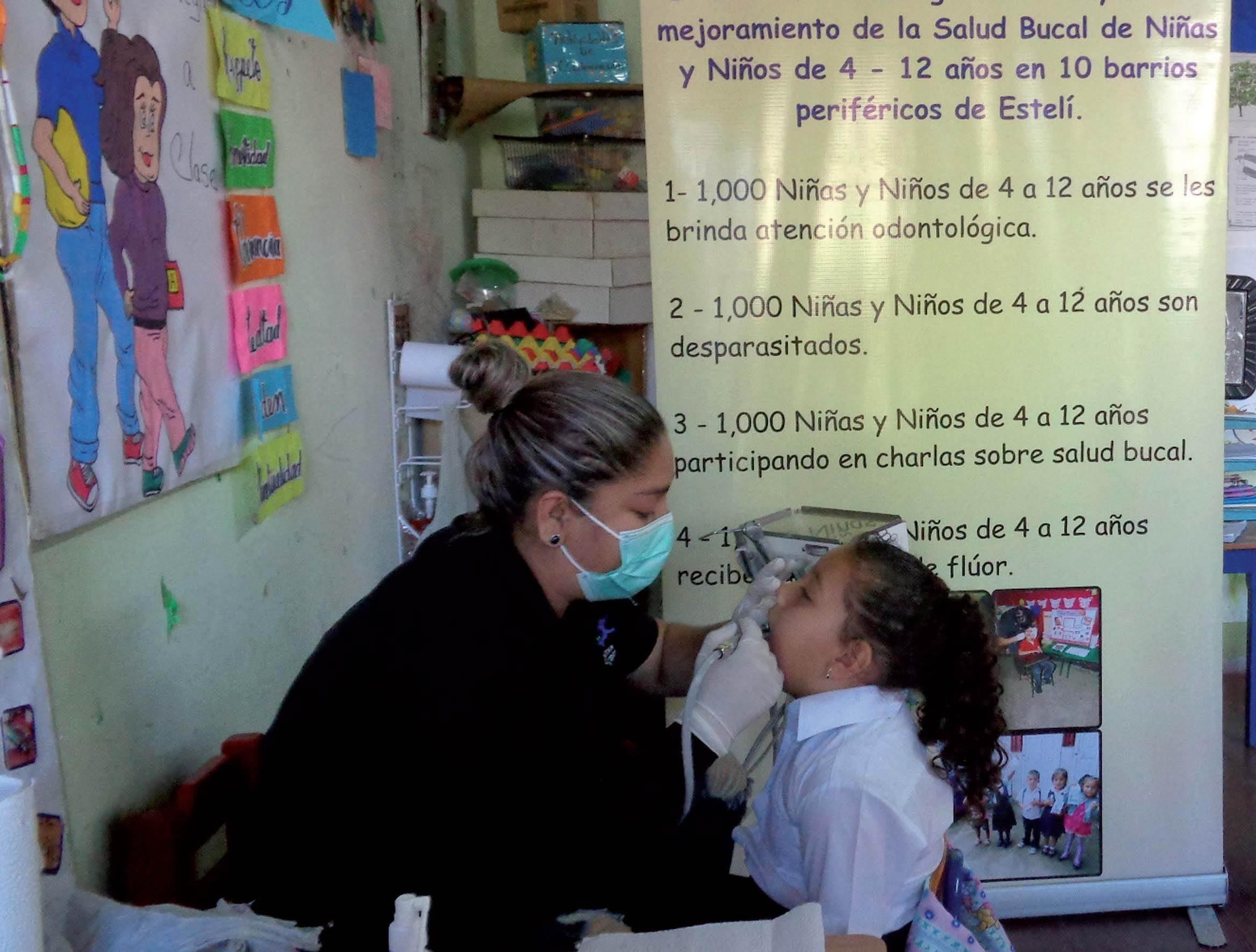 Brigadas de salud urbanas en Nicaragua