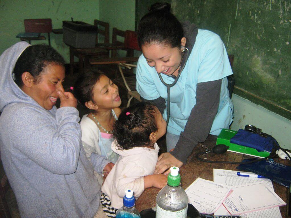 Brigadas médicas rurales en Nicaragua