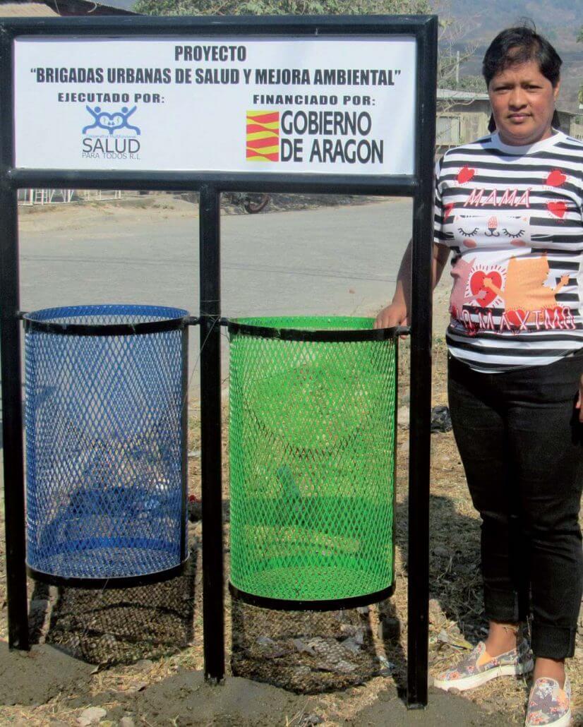 Brigadas urbanas de salud y mejora ambiental en Nicaragua
