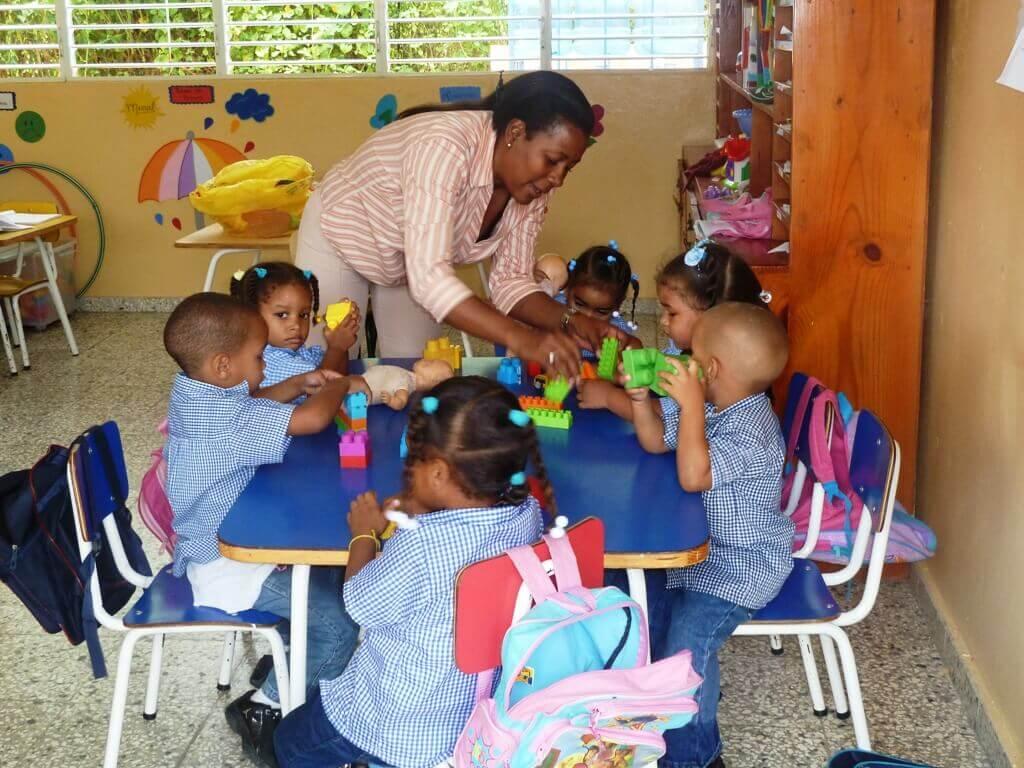 Centro de educación preescolar en República Dominicana
