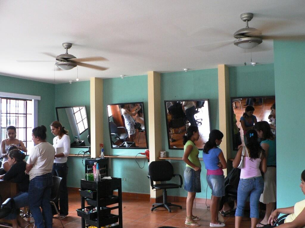 Centro de formación en Nicaragua