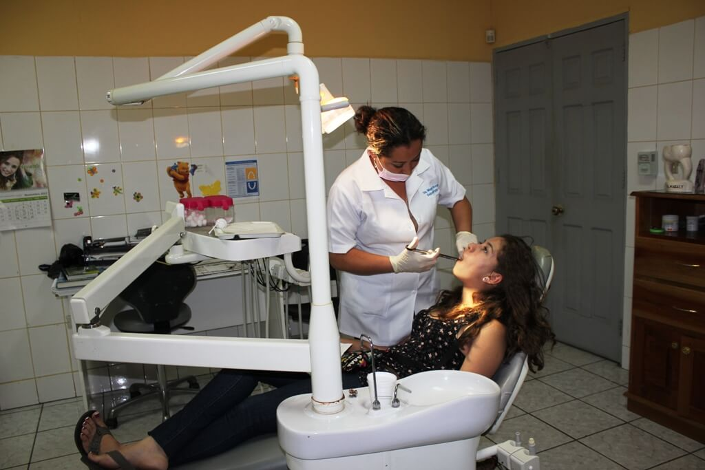 Centro de salud y farmacia en Nicaragua