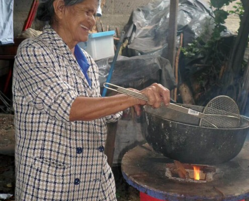 Cocinas mejoradas en Nicaragua