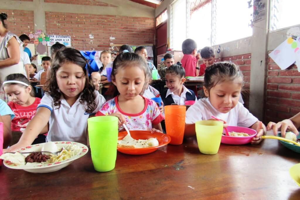 Comedores escolares en Nicaragua