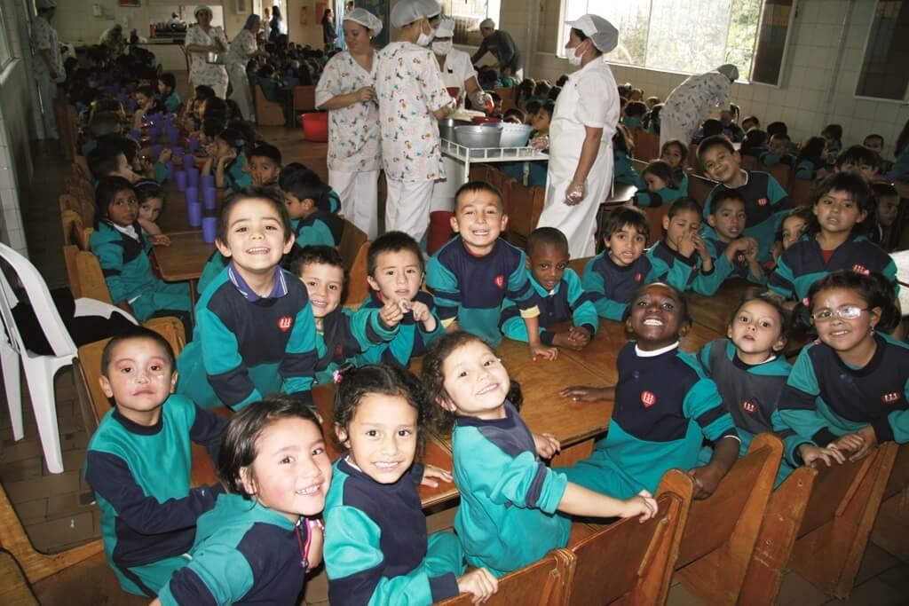 Comedores escolares en Colombia