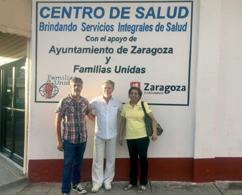 Comitiva del Ayuntamiento de Zaragoza en Estelí