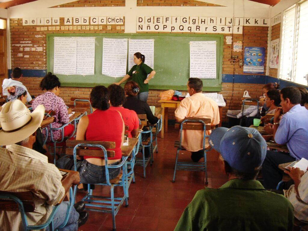 Desarrollo comunitario en Nicaragua
