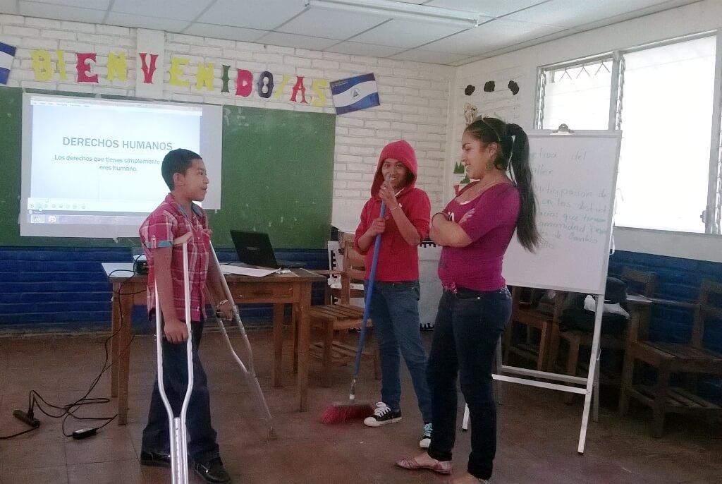 Desarrollo integral de adolescentes de la comarca la Montañita en Nicaragua