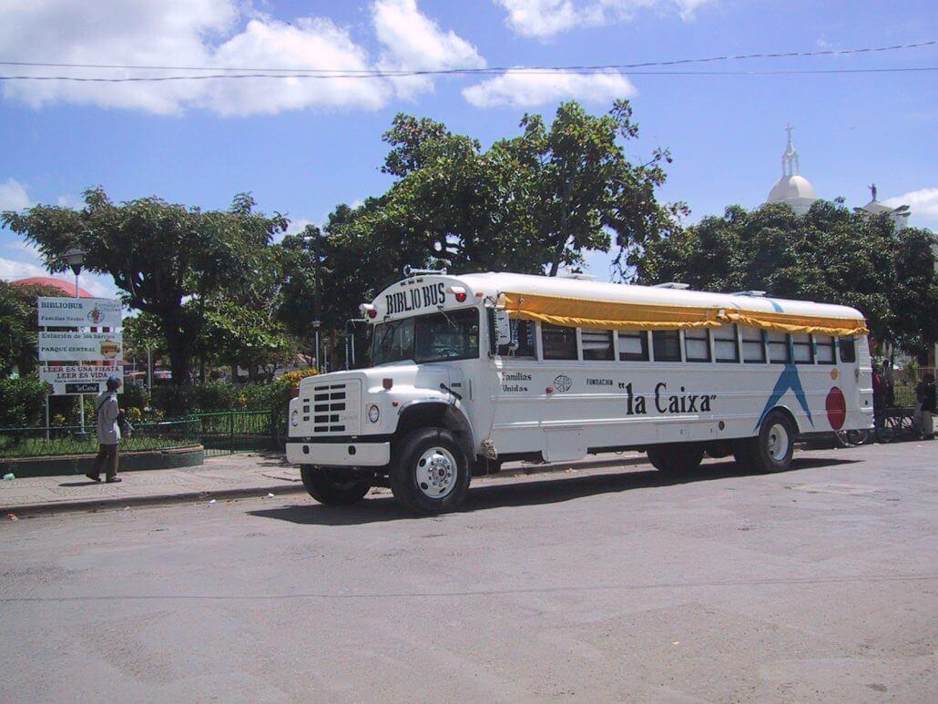 Bibliobus en Nicaragua