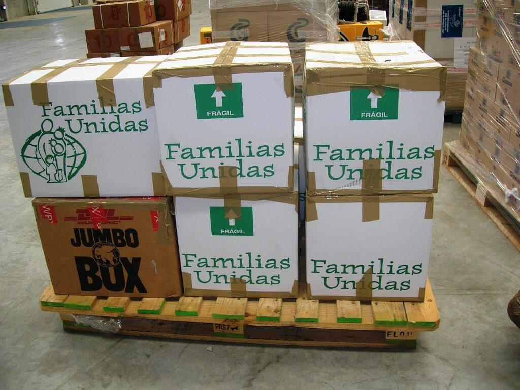 Envío de contenedores para Nicaragua