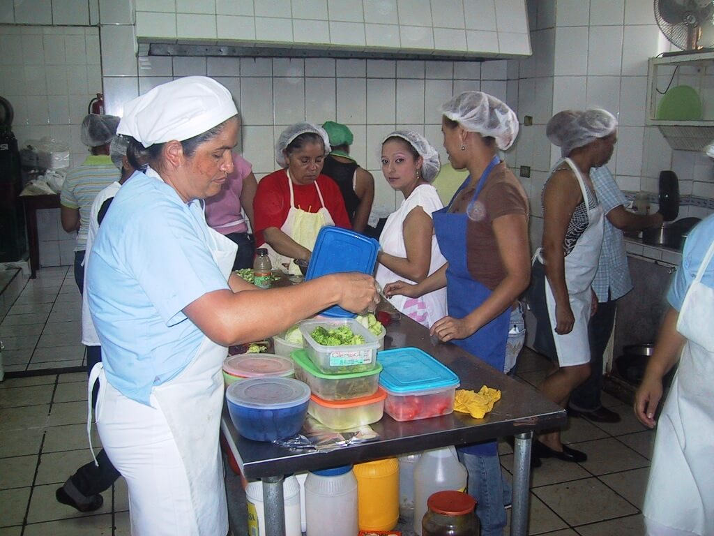 Escuela de hostelería y gestión turística Los Arcos en Nicaragua