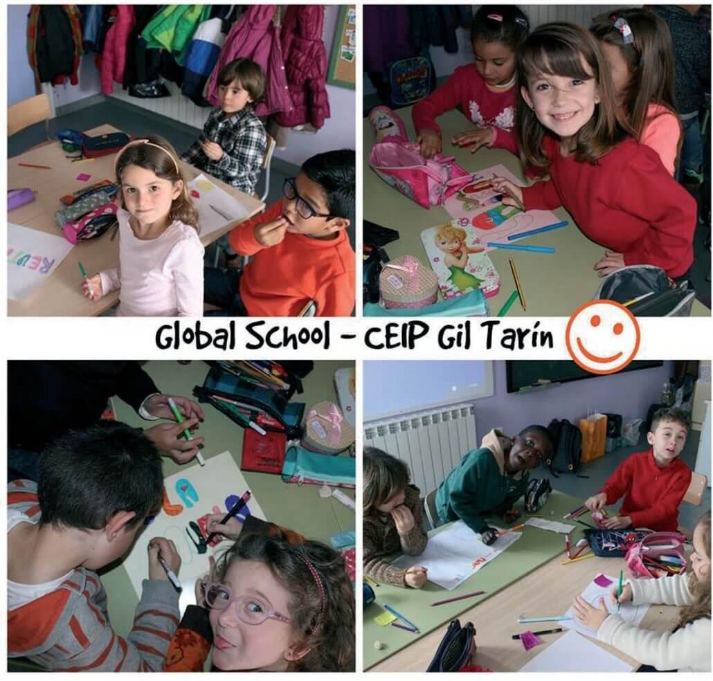 Escuelas globales CEIP Gil Tarín