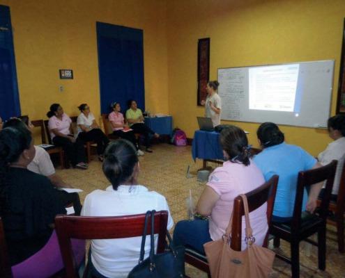 Fortalecimiento de nuestros socios locales en Nicaragua