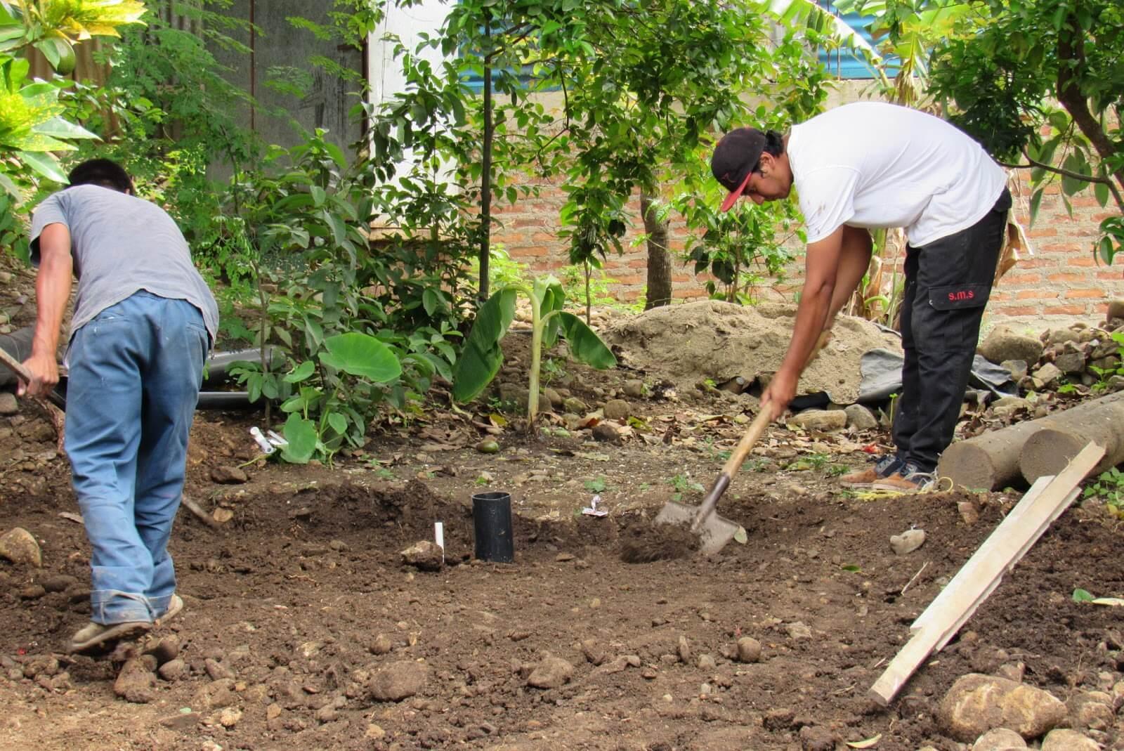 Instalación de servicios higiénicos domiciliares en Nicaragua