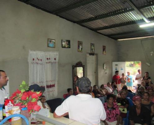 Instalación de servicios higiénicos domiciliarios en Estelí