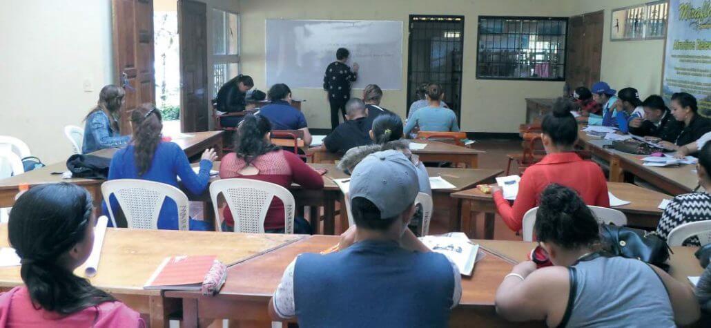 La universidad en el campo Nicaragua
