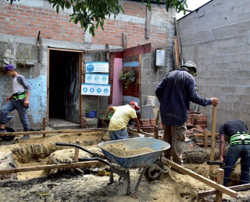 Mejora de condiciones de saneamiento e higiene en Nicaragua