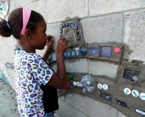 Arte y educación ambiental en Santo Domingo