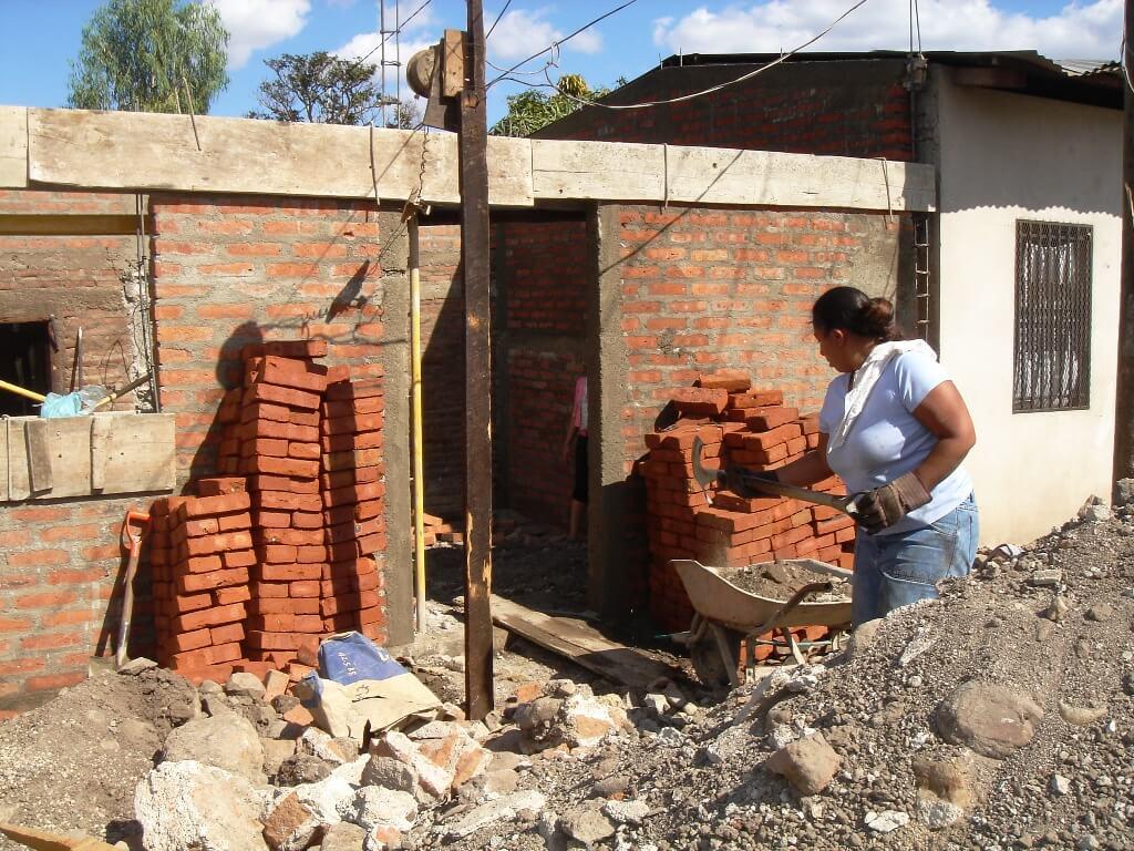 Rehabilitación de viviendas en Nicaragua