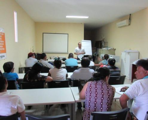 Reunión con los barrios de Estelí