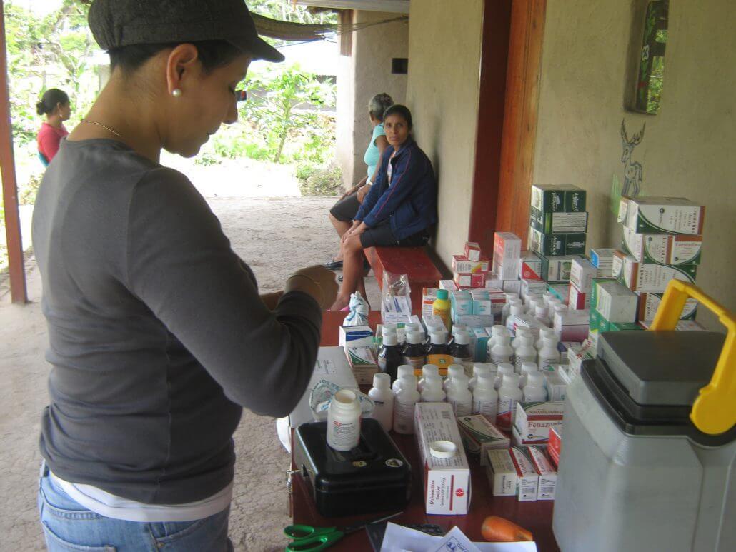 Salud integral en zonas rurales de Nicaragua